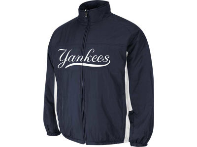 New York Yankees Majestic MLB Youth Double Climate On-Field Jacket