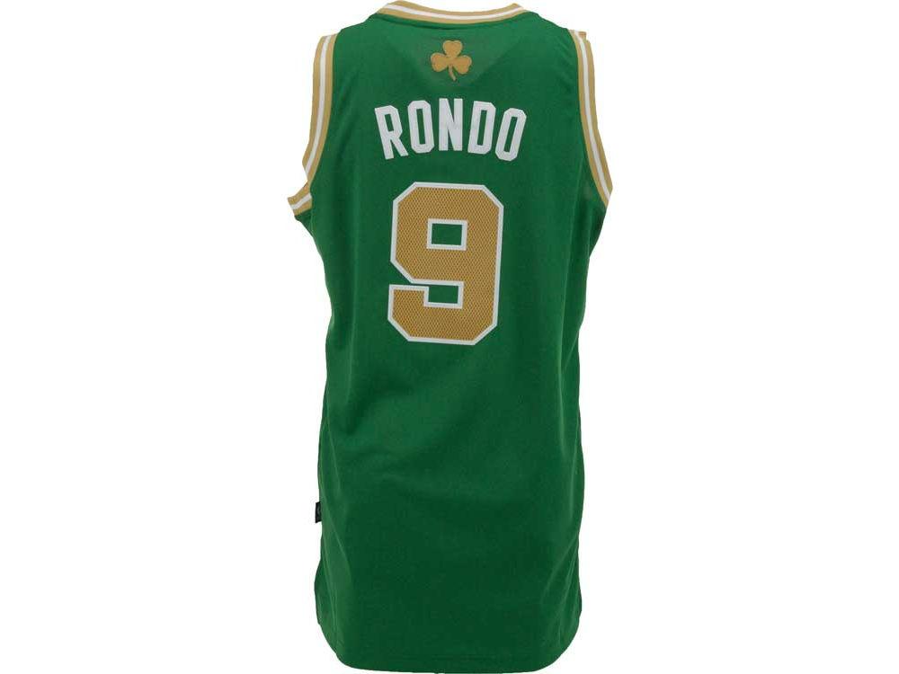 Boston Celtics Rajon Rondo adidas NBA Men s St Pattys Day Swingman Jersey  a36aa763b