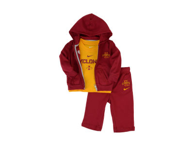 Iowa State Cyclones NCAA Newborn Hoodie, Pants and T-Shirt Outfit