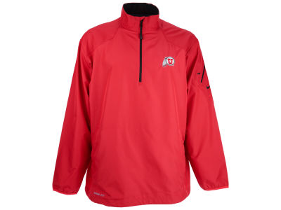 Utah Utes NCAA Men's Lockdown Half Zip Pullover Jacket