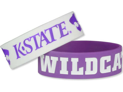 Kansas State Wildcats 2-pack Wide Bracelet
