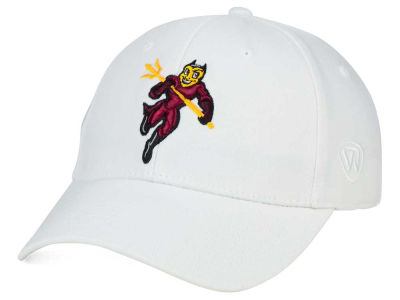 Arizona State Sun Devils Top of the World NCAA White PC Cap