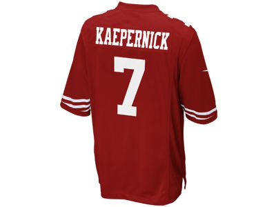 San Francisco 49ers Colin Kaepernick Nike NFL Youth Game Jersey