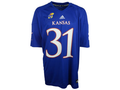 Kansas Jayhawks adidas NCAA Replica Football Jersey 3x-4x