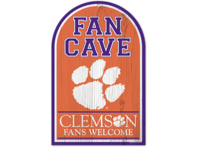 Clemson Tigers 11x17 Wood Sign