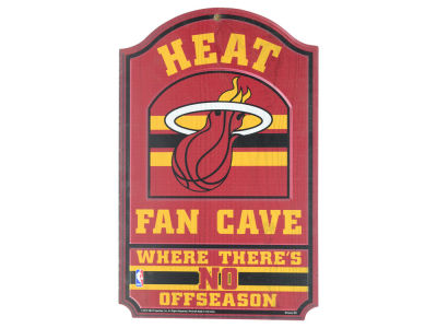 Miami Heat 11x17 Wood Sign