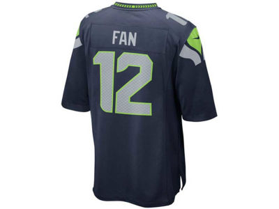 Seattle Seahawks Fan #12 Nike NFL Kids Game Jersey