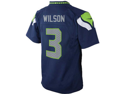Seattle Seahawks Russell Wilson Nike NFL Kids Game Jersey