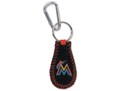 Miami Marlins Team Color Keychains