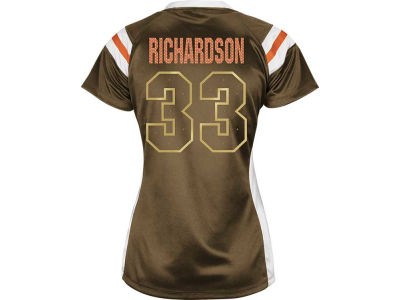 Cleveland Browns Trent Richardson NFL Womens Draft Him III Top