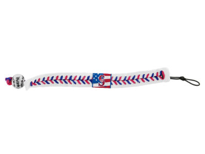 Seattle Mariners MLB Stars and Stripes Game Wear Bracelet