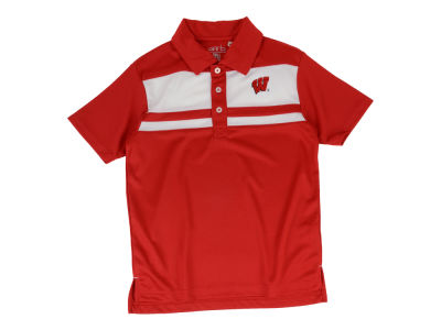 Wisconsin Badgers NCAA Youth Nixon Polo Shirt