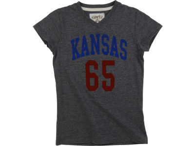 Kansas Jayhawks NCAA Girls Mary Jersey T-Shirt