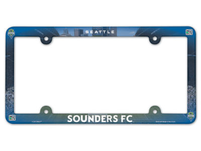Seattle Sounders FC Full Color Plate Frame