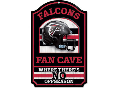 Atlanta Falcons 11x17 Wood Sign