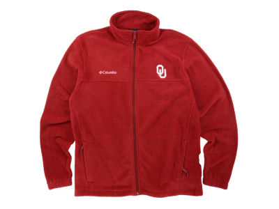 Oklahoma Sooners Columbia NCAA Flanker Full Zip Jacket