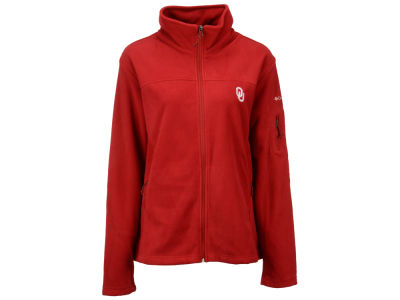 Oklahoma Sooners Columbia NCAA Womens Give & Go Full Zip Jacket