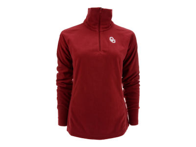Oklahoma Sooners NCAA Womens Glacial 1/2 Zip Jacket
