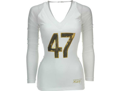 Super Bowl XLVII NFL Womens Super Bowl XLVII Wild Cat T-Shirt