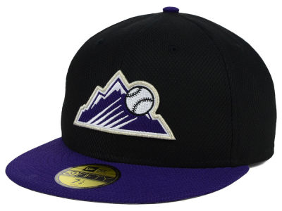 Colorado Rockies New Era MLB Diamond Era 59FIFTY Cap