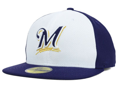 Milwaukee Brewers New Era MLB Diamond Era BP 59FIFTY Cap