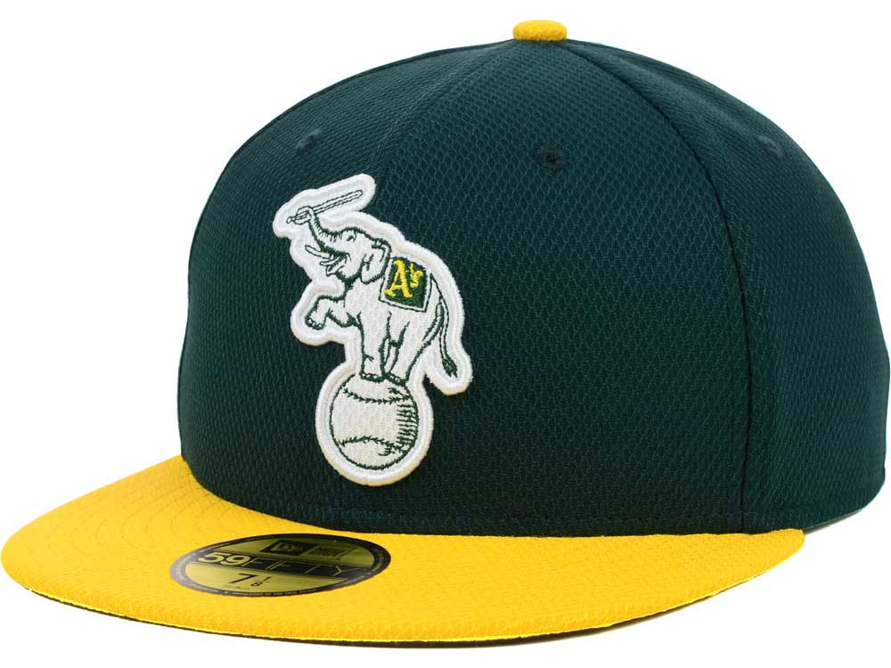 Oakland Athletics New Era MLB Diamond Era BP 59FIFTY Cap  0bb1358532c1
