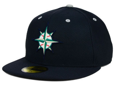 Seattle Mariners New Era MLB Diamond Era 59FIFTY Cap
