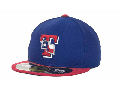 Texas Rangers New Era MLB Diamond Era BP 59FIFTY Cap