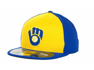 Milwaukee Brewers New Era MLB Kids Diamond Era 59FIFTY Cap