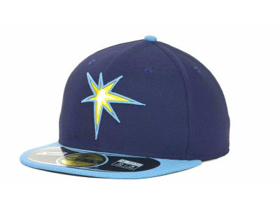 Tampa Bay Rays New Era MLB Kids Diamond Era 59FIFTY Cap