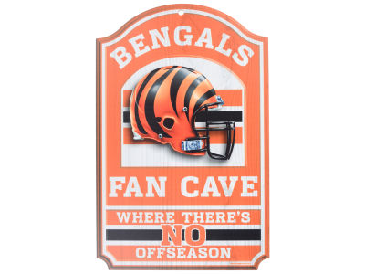 Cincinnati Bengals 11x17 Wood Sign