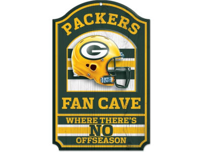 Green Bay Packers 11x17 Wood Sign