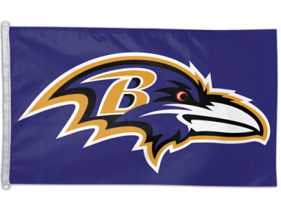 Baltimore Ravens 3x5ft Flag