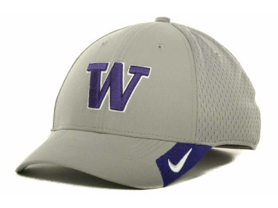 Washington Huskies Nike NCAA Grayout Mesh Swooshflex Cap