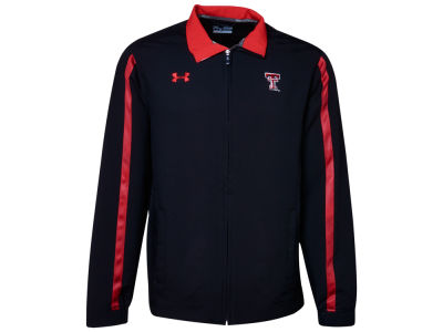 Texas Tech Red Raiders Under Armour NCAA Men's Dominance Woven Full Zip Jacket