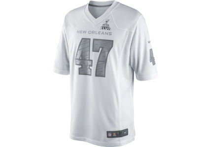 Nike NFL Super Bowl XLVII Custom Game Jersey