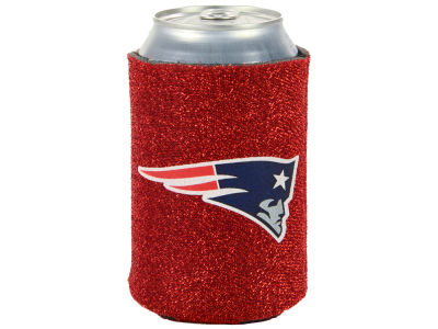 New England Patriots Glitter Can Coozie