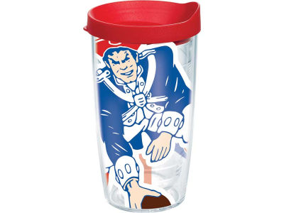 New England Patriots 16oz. Colossal Wrap Tumbler with Lid