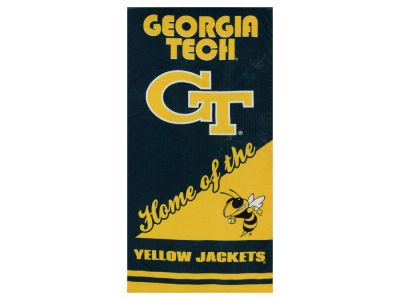 Georgia-Tech Beach Towel Home NCAA