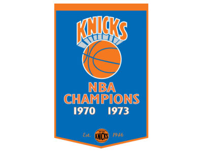 New York Knicks Winning Streak Dynasty Banner