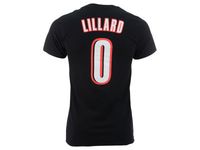 Portland Trail Blazers Damian Lillard adidas NBA Men's Player T-Shirt