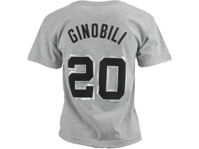 San Antonio Spurs Manu Ginobili NBA Youth Name And Number T-Shirt