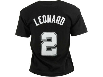 San Antonio Spurs Kawhi Leonard NBA Youth Name And Number T-Shirt
