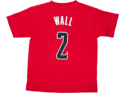 Washington Wizards John Wall NBA Kids Name And Number T-Shirt