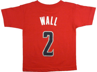 Washington Wizards John Wall NBA Toddler Name Number T-Shirt
