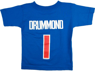Detroit Pistons Andre Drummond NBA Toddler Name Number T-Shirt