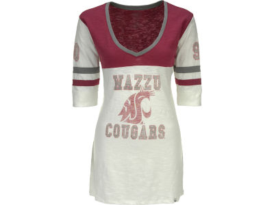 Washington State Cougars NCAA Womens Debut T-Shirt