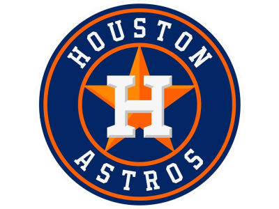 Houston Astros Static Cling Decal