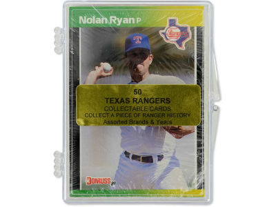 Texas Rangers 50 Card Pack-Assorted