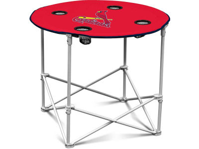 St. Louis Cardinals Folding Fabric Round Table